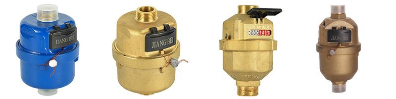 铜壳立式容积式水表LXH(DN15~25mm)