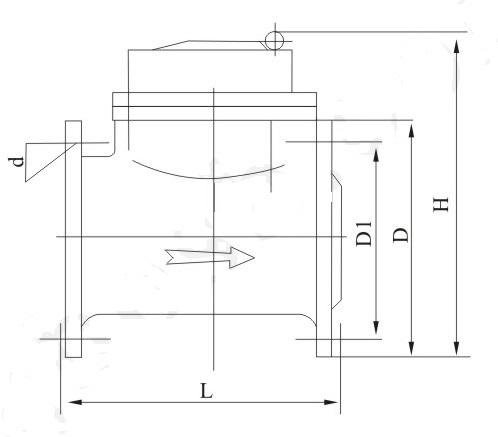 NB-IoT无线远传水表外形尺寸图2