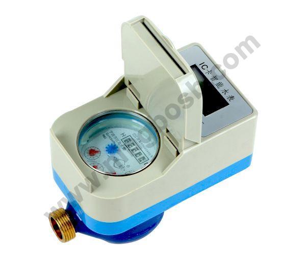 插卡式(接触式)IC卡智能水表LXSK-15~25,LXSRK-15~25